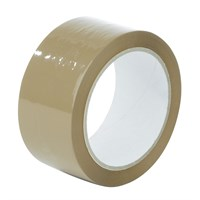 Brown Olympia Plus Acrylic Tape 38Mm Core 48Mm X 150M Roll