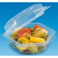 CONTAINER SALAD HEXAGONE SHAPE 250cc ALPHA