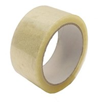 Clear Solvent Polypropylene Tape