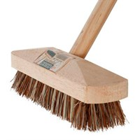 Wooden Deck Scrub Brush Complete