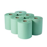 2Ply Green Dairy Wipe 23Cm X 140M