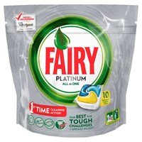 Fairy Platinum Lemon All In 1 Dishwasher Tablets