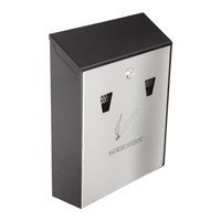 Wall Mounted Smokers Station Cigarette Bin