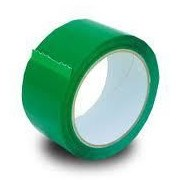Green Acrylic Polypropylene Tape 48Mm