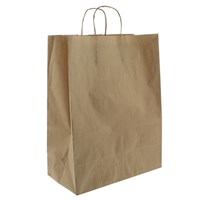 Brown Paper Carrier Bag 16 X 22 X 18 Inch Twisted Handle