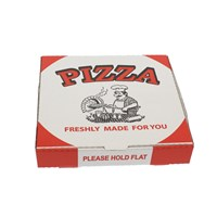 Generic White Pizza Box