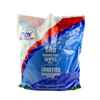 Pal Disinfectant Blue Large Surface Refill Bag 500 Wipes 200 X 235Mm