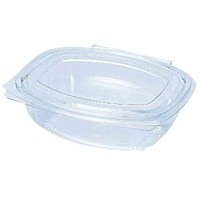 Bioware 375Cc Salad Container Pla Hinged Lid