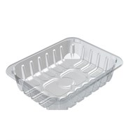 C3D Padded Clear Food Tray 220 X 130 X 28Mm