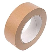 50Mm X 50M Self Adhesive Brown Paper Tape 60Gsm Roll