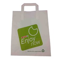 Enjoy Now Spar Paper Carrier Bag 10X15X12