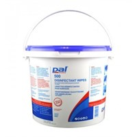Pal Disinfectant Wipe Blue Large Surface 500 Wipes Per 8 Litre Bucket 200 X 235