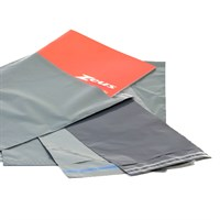 Grey Opaque Mailing Bag With 40Mm Self Seal Lip